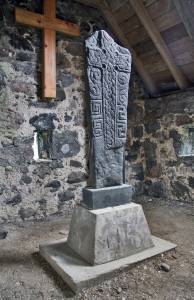 viking headstone_Isle of Barra